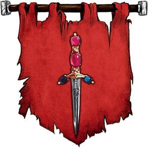 The Symbol of Abbathor - Jeweled dagger