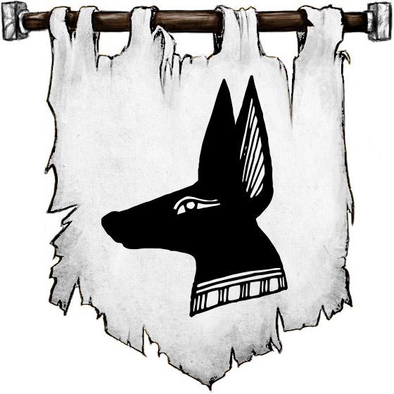 The Symbol of Anubis - Black jackal