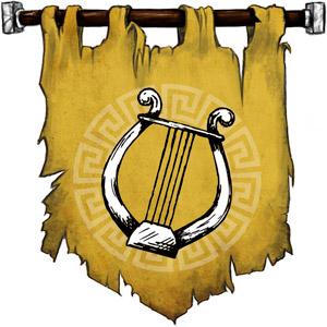 The Symbol of Apollo - Lyre