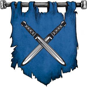 The Symbol of Arvoreen - Two crossed short swords