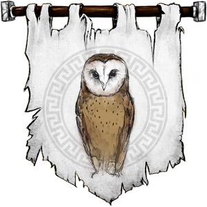 The Symbol of Athena - An owl