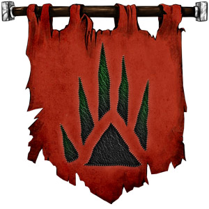 The Symbol of Bane - Green rays squeezed forth from a black fist