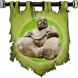 The Symbol of Beory - A rotund woman figurine