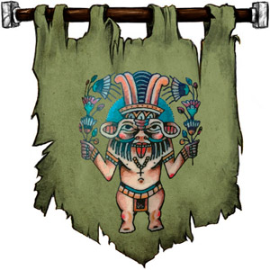 The Symbol of Bes - Image of the deity