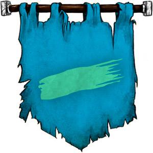 The Symbol of Diancastra - A sea-green streak