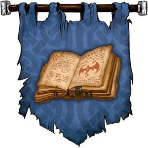 The Symbol of Dugmaren Brightmantle - Open book