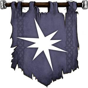 The Symbol of Erevan Ilesere - Starburst with asymmetrical rays