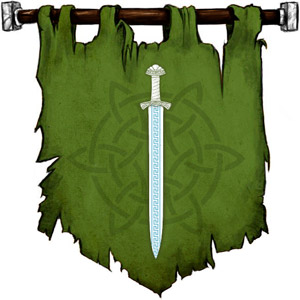 The Symbol of Frey - Ice-blue greatsword