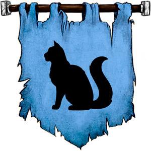 The Symbol of Frigga - Large cat