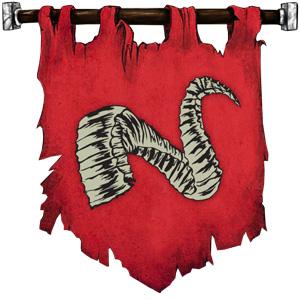 The Symbol of Gargauth - Broken animal horn