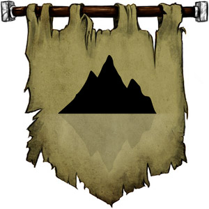 The Symbol of Geb - A mountain