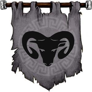 The Symbol of Hades - Black ram