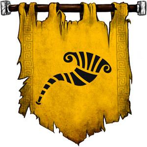 The Symbol of Heimdall - Gjallahorn (a twisting battle horn)