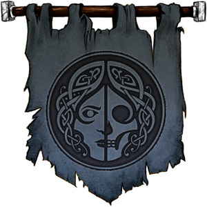 The Symbol of Hel - Her face, half decaying flesh