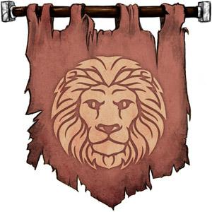 The Symbol of Hercules - Lion's head