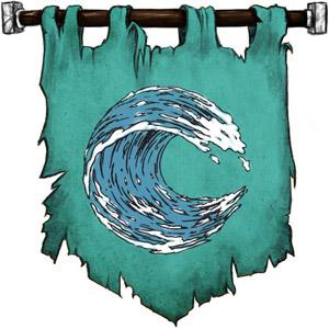 The Symbol of Istishia - Cresting wave