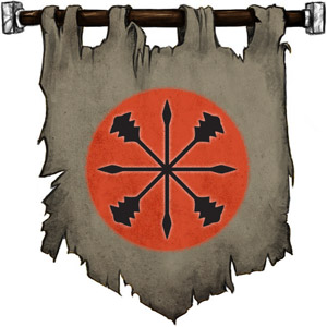 The Symbol of Kord - A star of spears and maces