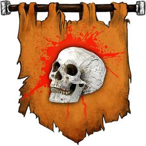 The Symbol of Kurtulmak - Gnome skull