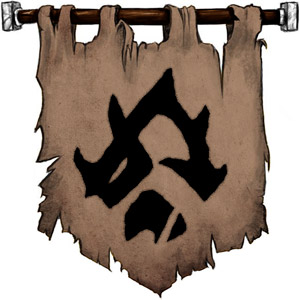The Symbol of Luthic - The orc rune for home