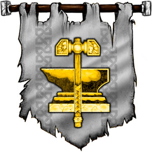 The Symbol of Moradin - Hammer and anvil