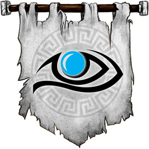 The Symbol of Odin - Watching blue eye