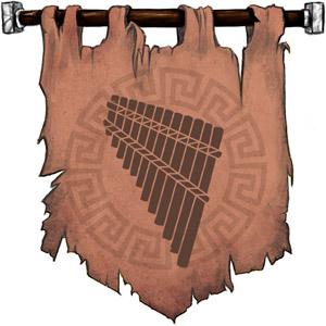 The Symbol of Pan - Syrinx (pan pipes)