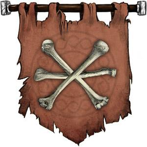 The Symbol of Ralishaz - Three sticks of bone