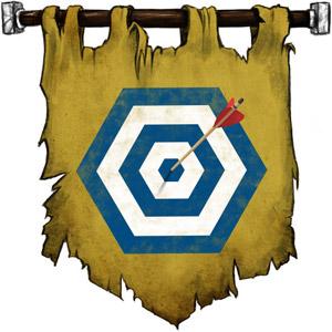 The Symbol of Rudd - Bullseye target