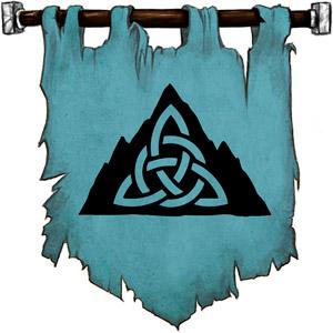 The Symbol of Skadi - Mountain peak