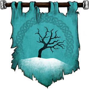 The Symbol of Telchur - Leafless tree in a snowy field