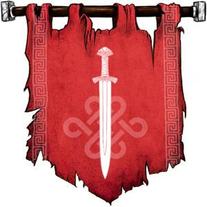 The Symbol of Tyr - Sword