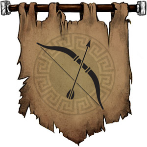 The Symbol of Uller - A longbow