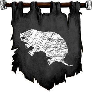 The Symbol of Urdlen - White mole