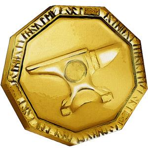 The Symbol of Vergadain - Gold piece