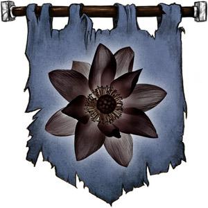 The Symbol of Xan Yae - Black lotus blossom