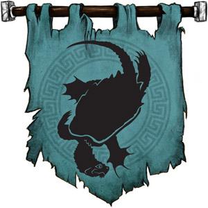 The Symbol of Xerbo - Dragon turtle