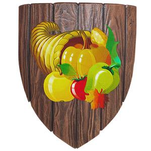 The Symbol of Yondalla - Cornucopia on a shield