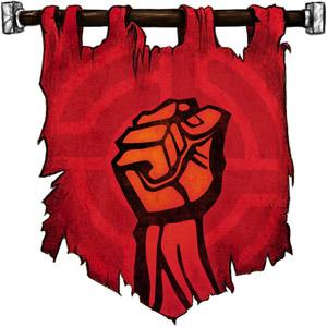 The Symbol of Zuoken - Striking fist